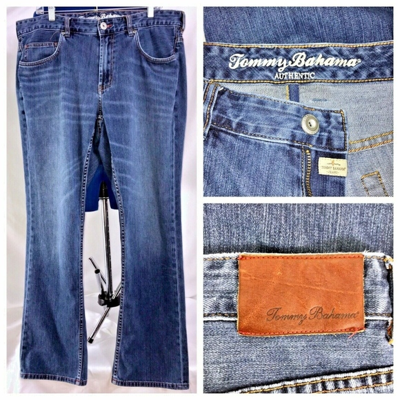 Tommy Bahama Other - Tommy Bahama Men's Blue Denim Jeans 39x31